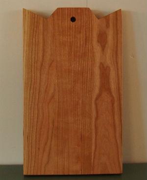 Kersenhouten snijplank broodplank handgemaakt meubelmaker Adriaan Groot-Amsterdam