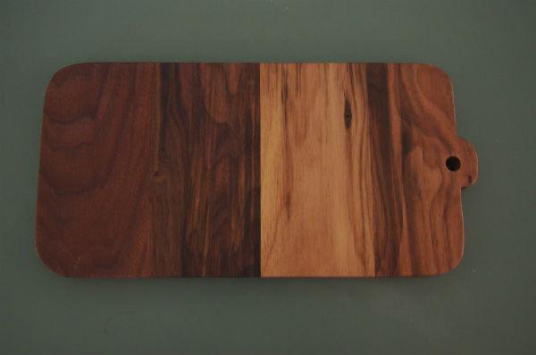 notenhouten broodplank handgemaakt meubelmaker Adriaan