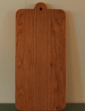 Kersenhouten snijplank broodplank groot handgemaakt meubelmaker Adriaan Groot-Amsterdam