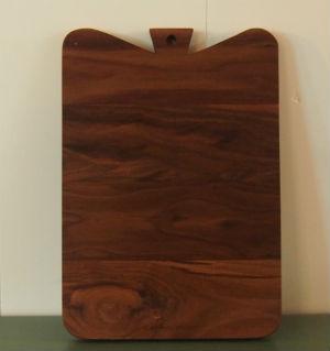 notenhouten snijplank broodplank handgemaakt meubelmaker Adriaan Groot-Amsterdam