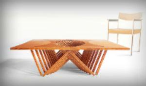 bamboetafel bamboe ideeën door meubelmaker Adriaan Zaanstad