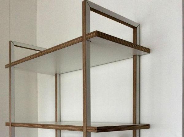 Eigentijdse boekenkast op maat meubelmaker adriaan - Eigentijdse boekenkast ...