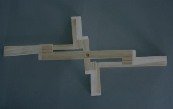 houten lamp accessoires van hout van meubelmaker Adriaan Beukema
